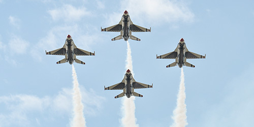 Picture of air force jets